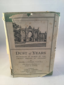 Frederick Cowles - Dust of Years, Sands 1933, 1st Edition, Signed by the Author and Illustrator
