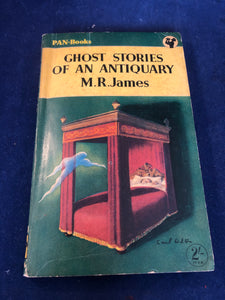 M.R. James - Ghost Stories Of Antiquary, Pan-Books, 1st paperback, 1953