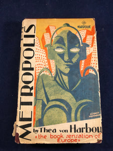 Thea Von Harbou - Metropolis, Readers Library, 1927