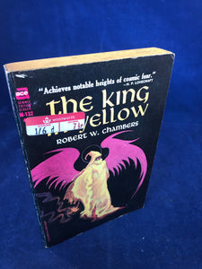 Robert W. Chambers - The King In Yellow, Ace Books, 1985, 1st US Paperback Edition