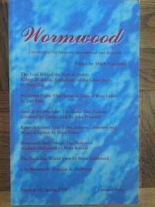 Mark Valentine - Wormwood, Tartarus Press, 2008, No.10