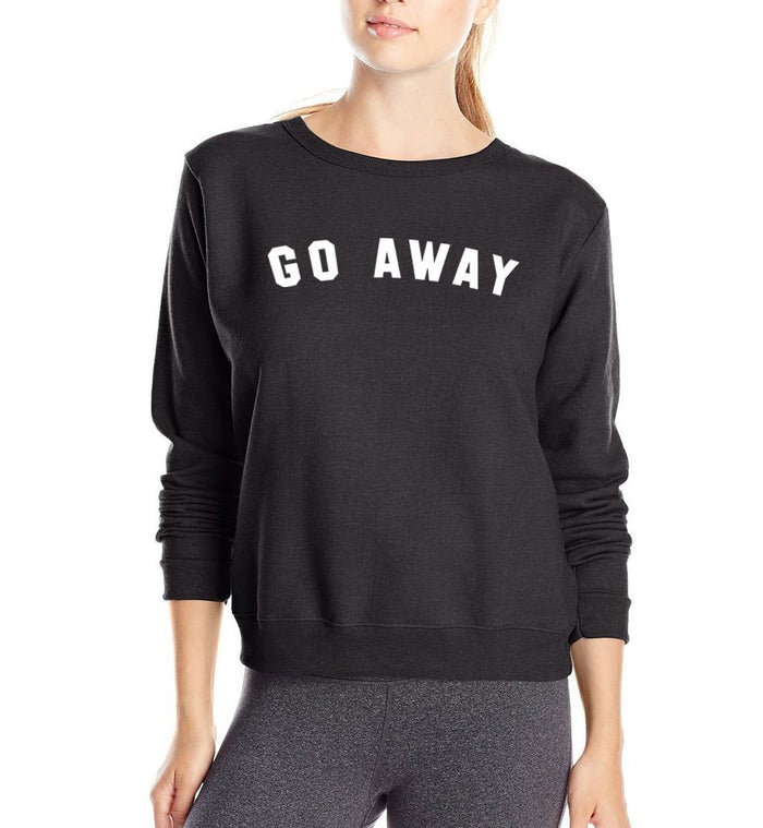 Aesthetic-GO AWAY PULLOVER