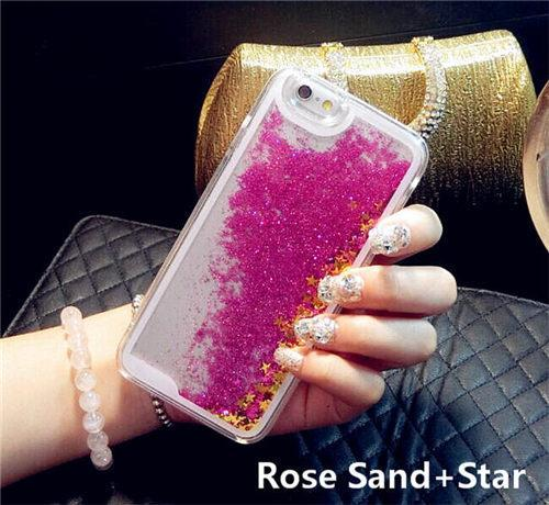 Aesthetic-Liquid Glitter iPhone Cases