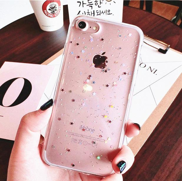 Aesthetic-Shining Stars iPhone Cases