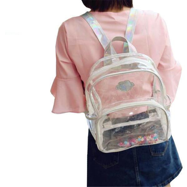 Aesthetic-Transparent Backpack