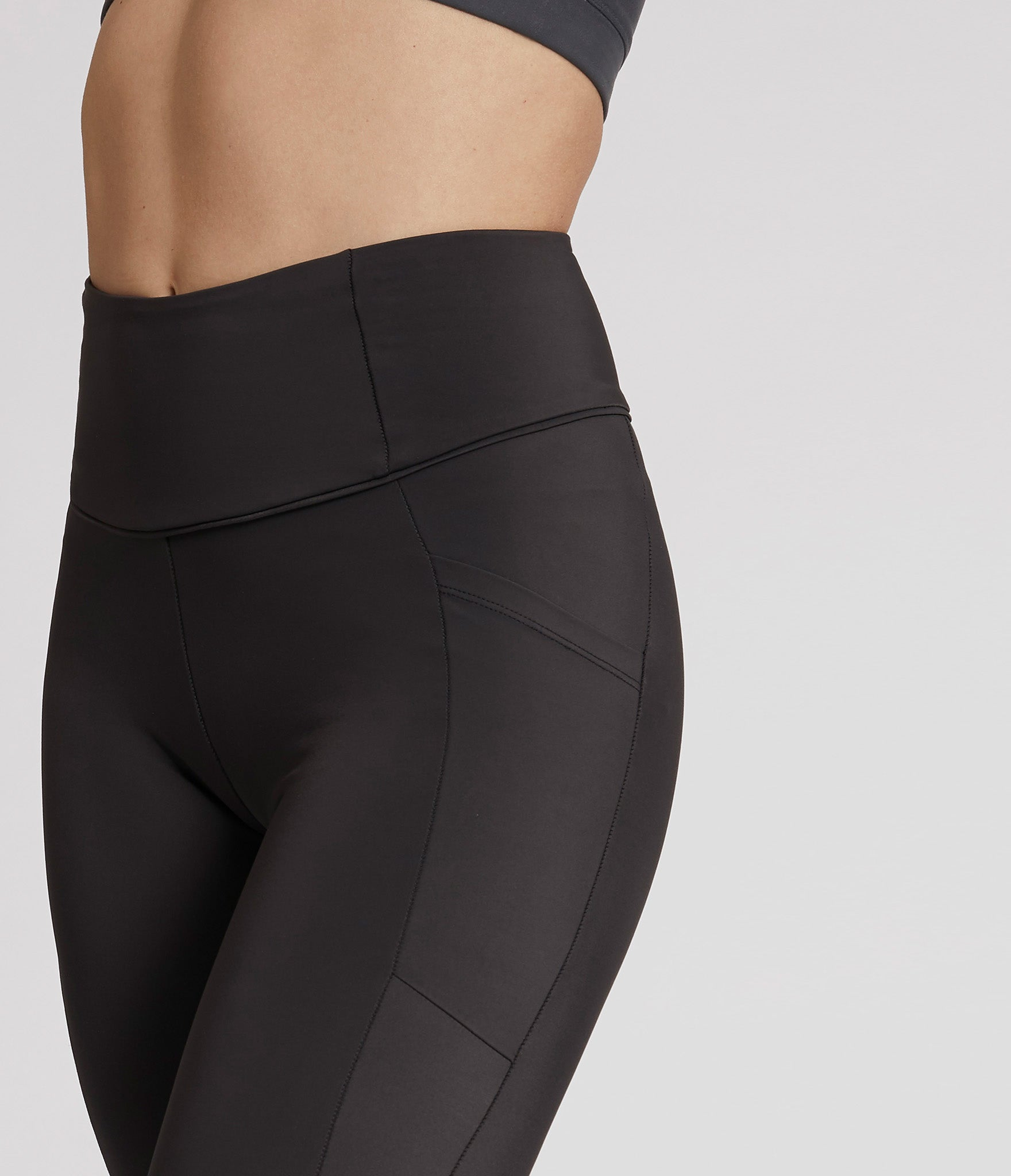 Quebec leggings</br>Liquorice