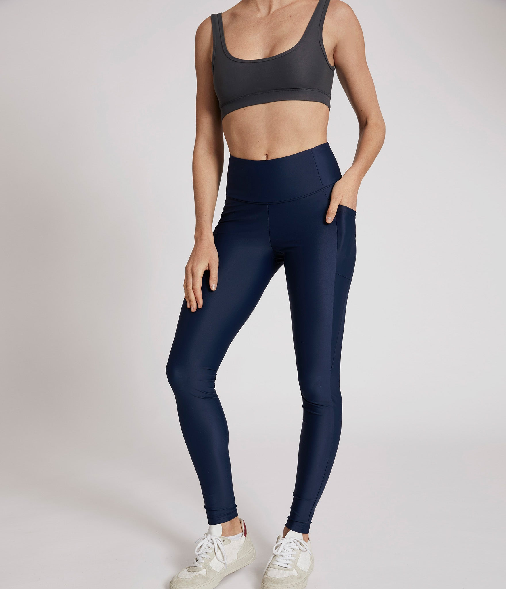 Quebec leggings</br>Blue