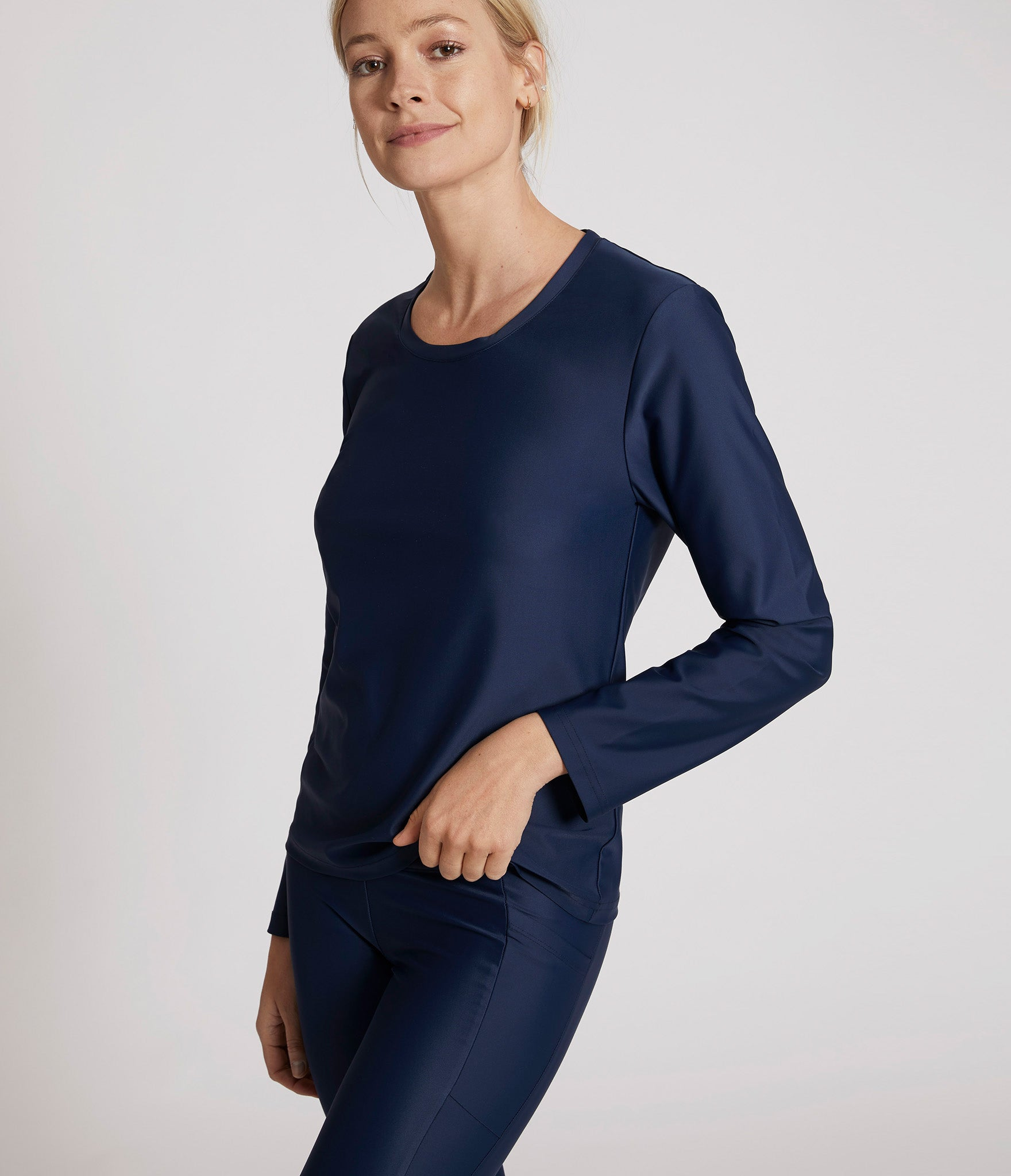 Vancouver long sleeve t-shirt</br>Blue