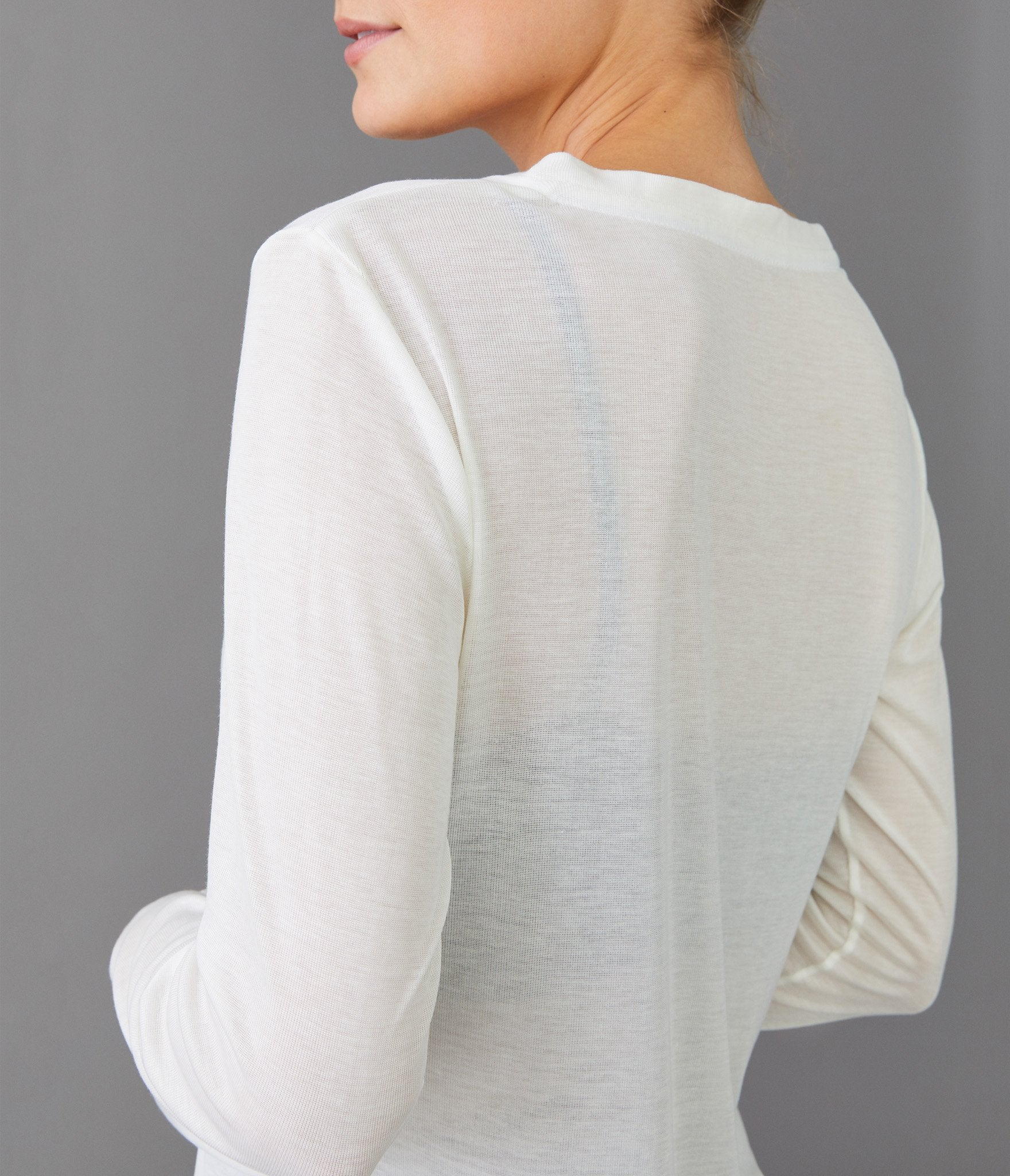 Oslo long sleeve t-shirt</br>Off-white