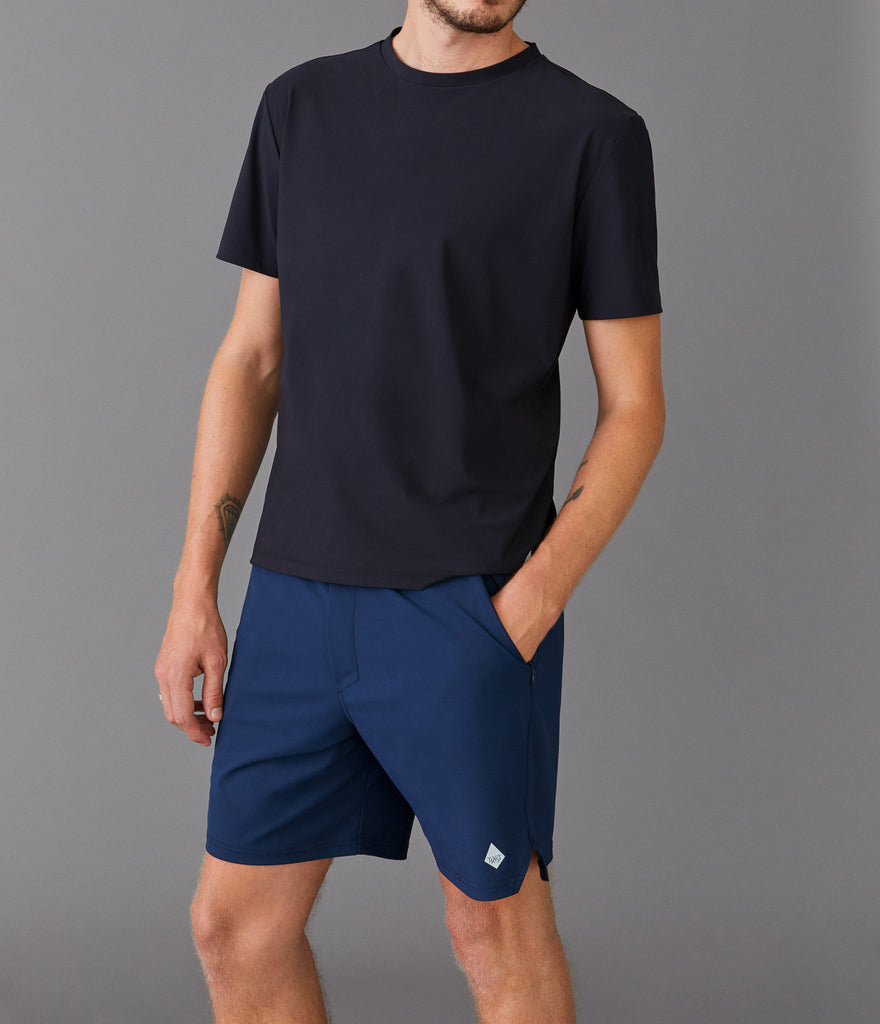 Paris shorts</br>Dark navy