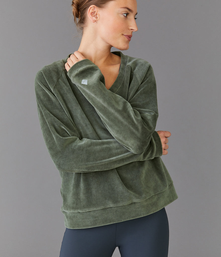 Toronto sweater</br>Khaki green