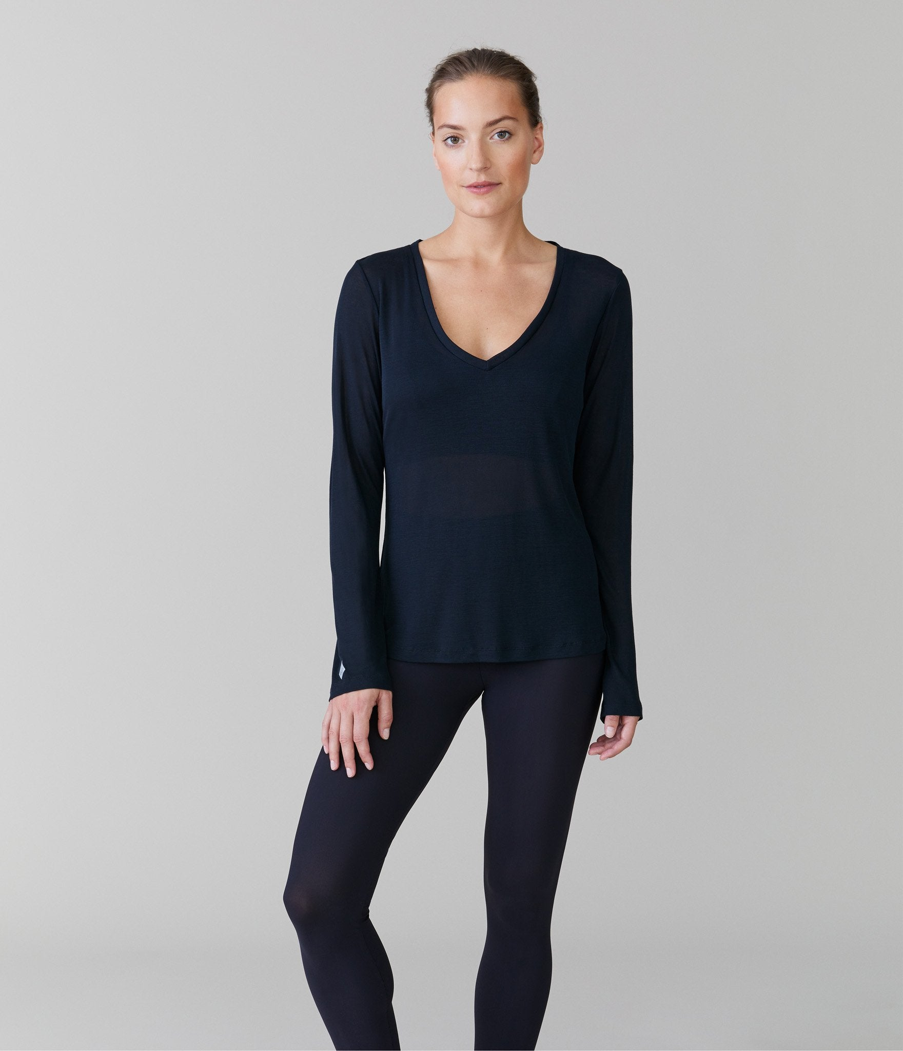 Oslo long sleeve t-shirt</br>Black