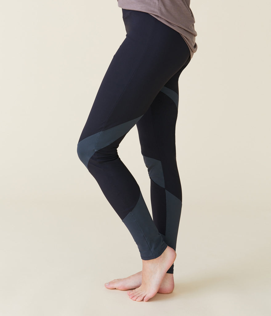 New York tights</br>Black/dark grey