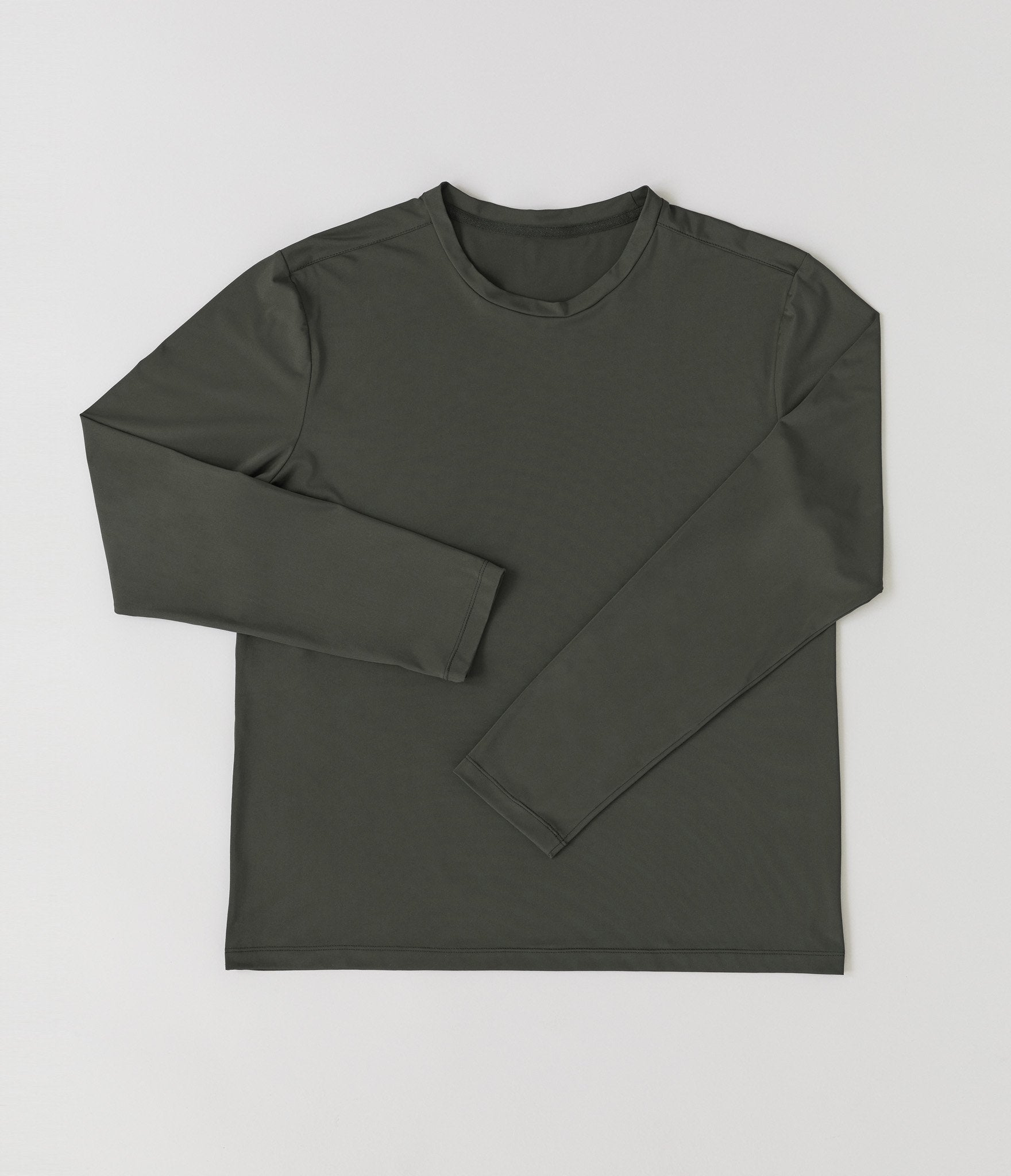 Rome long sleeve t-shirt</br>Khaki green