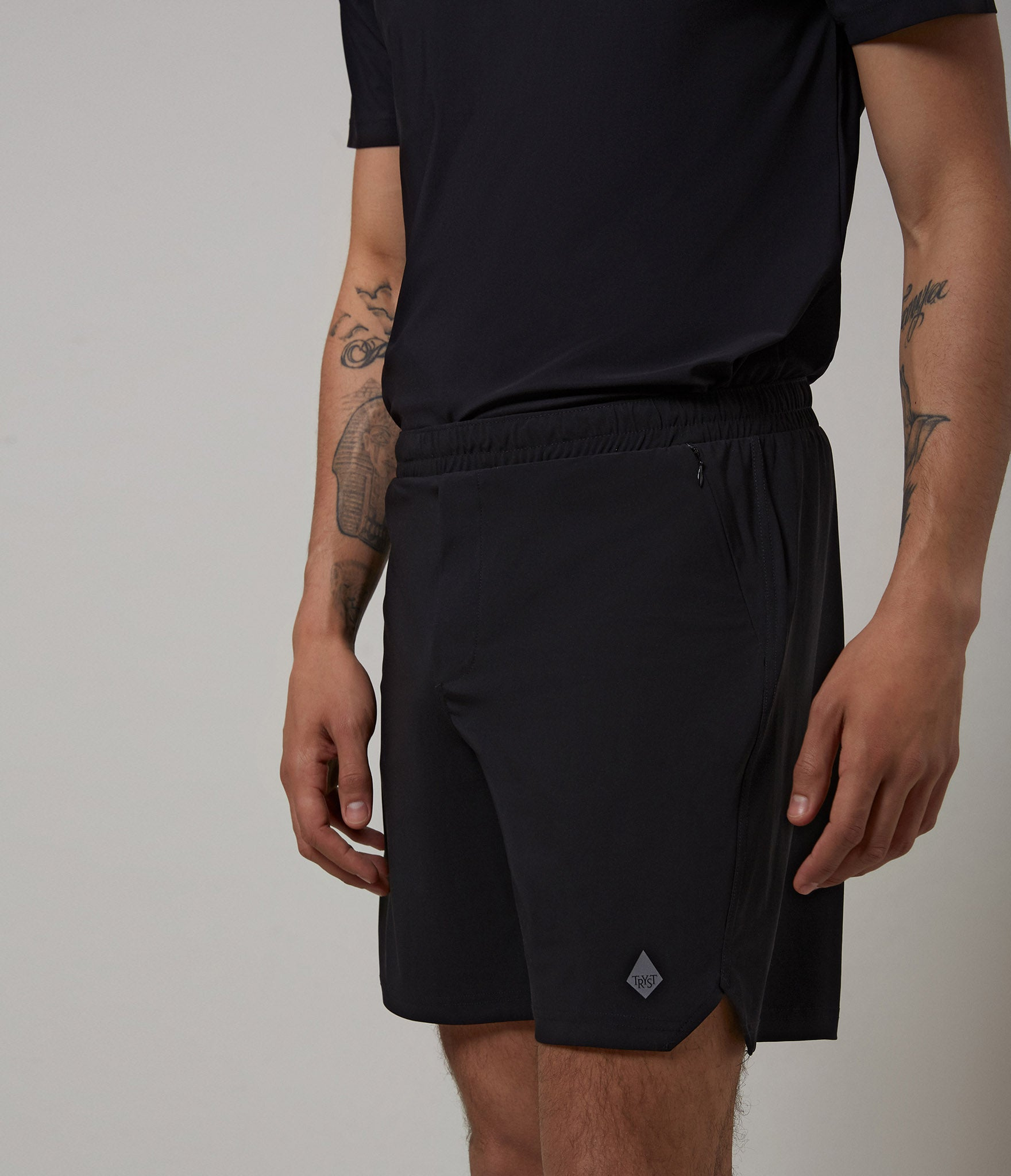 Paris shorts</br>Black