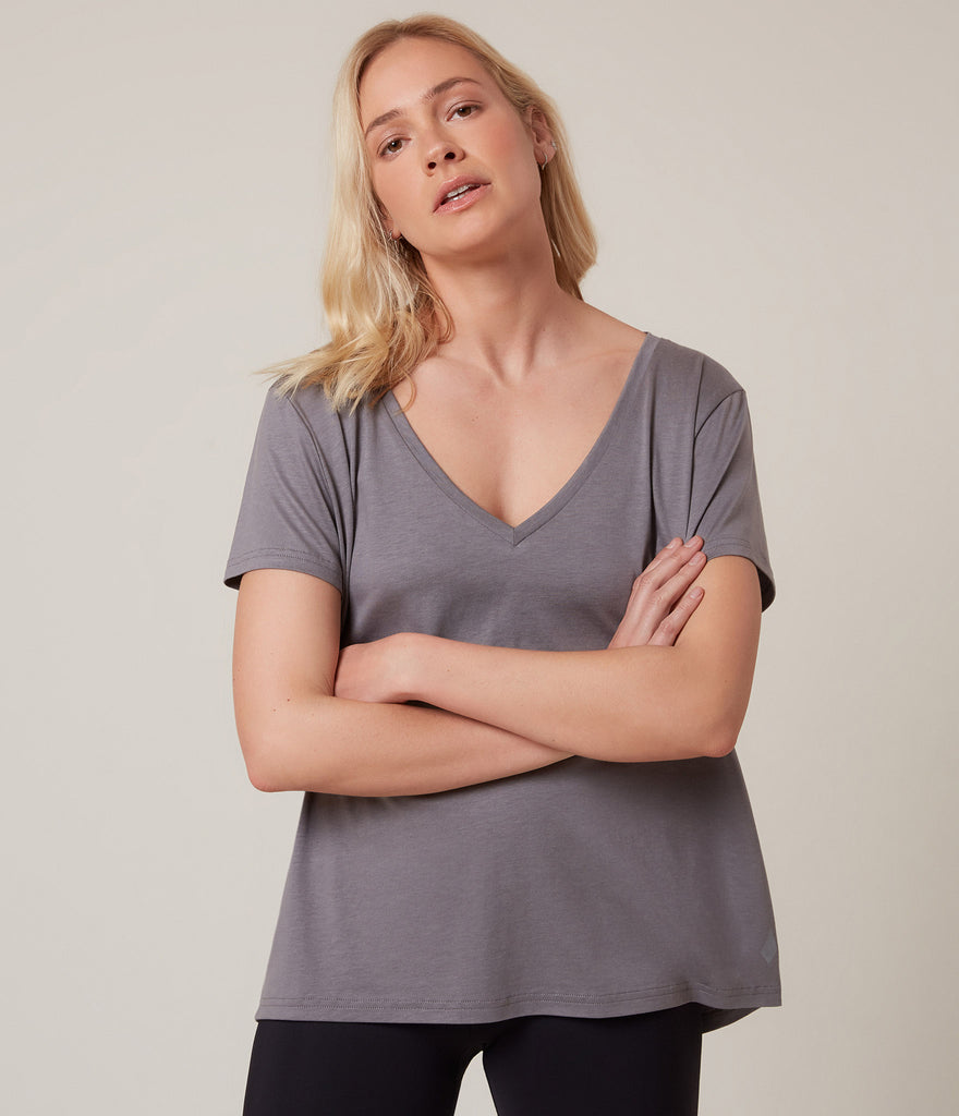 Lyon T-shirt</br>Steel