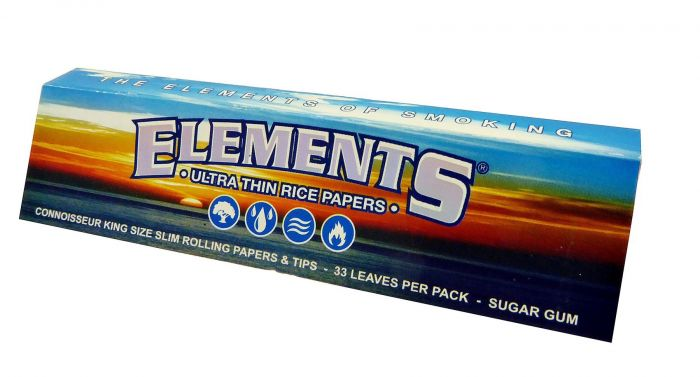 Elements King Size Ultra Slims Rolling Papers