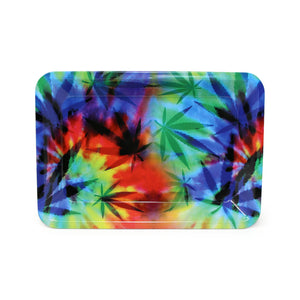 Mini Rolling Tray - Psychedelic Hemp