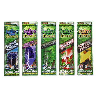Juicy Jay Hemp Wraps Combo Pack (5)