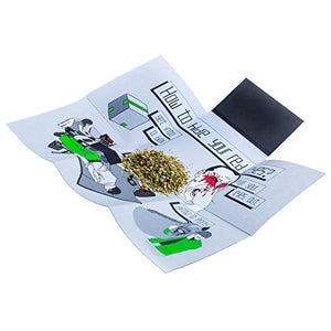 CASE ON IT Folding Rolling Tray - Red Eyes
