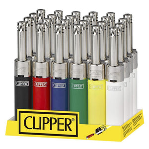 Clipper 'Silver Top' Mini Tube Utility Lighter