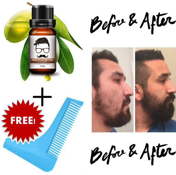 Fine Organic Beard & Hair Growth Essence (FREE GIFT TODAY!) *NEW EDITION*