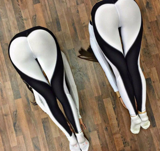 Heart Yoga Pants Women Fitness