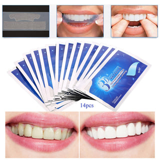 28 Pcs 14 Pair Ultimate 3D Whitening Strips (On SALE Today!) *60% OFF*