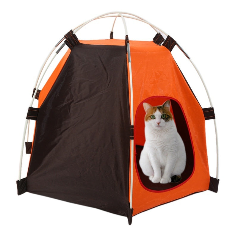 Dog Tent -Soft Dog House For Dogs - Portable & Foldable - Top Quality