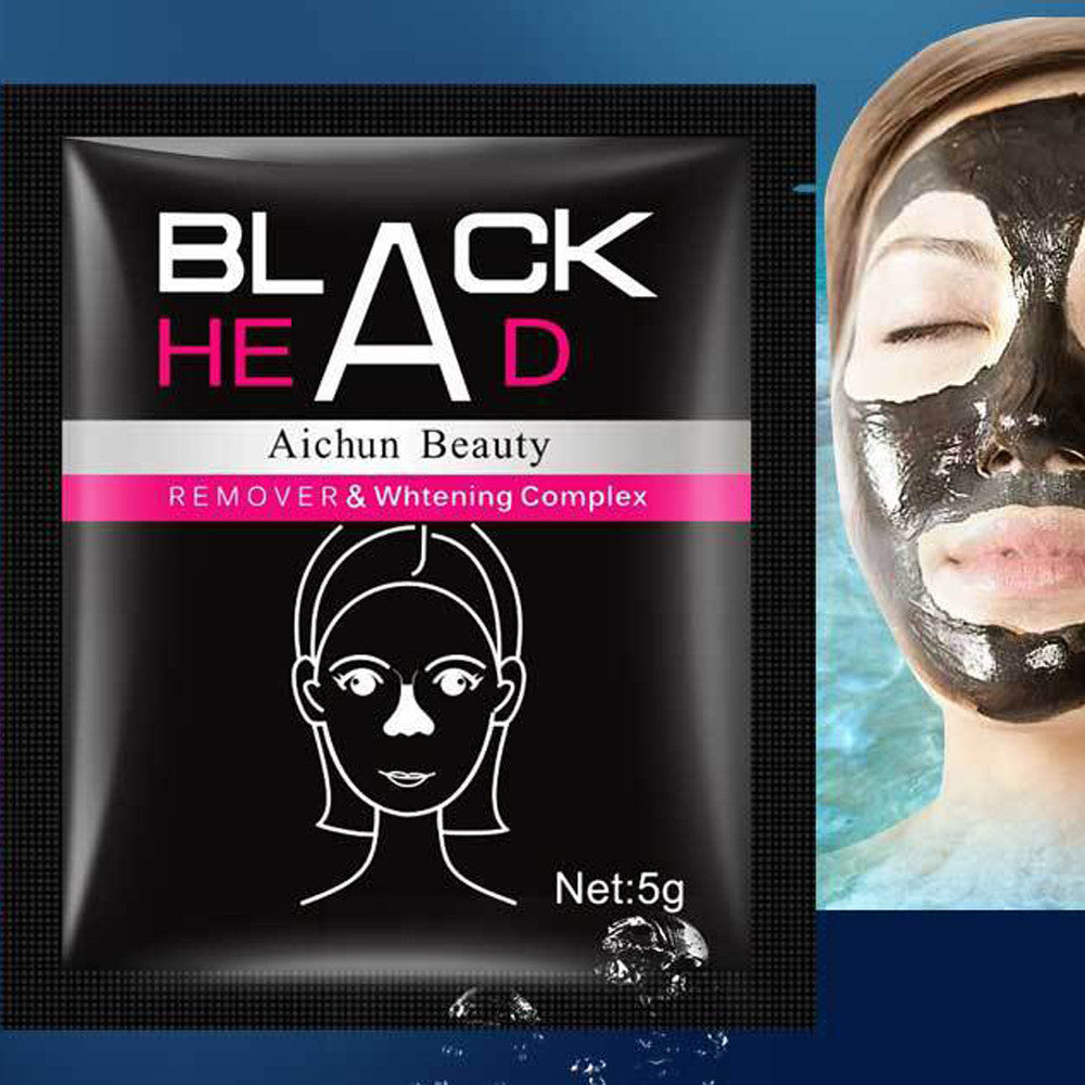 Black Mud Deep Cleansing Purifying Peel Off Facail Face Mask