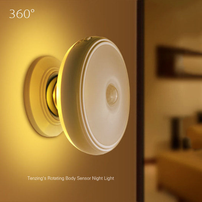 Motion Sensor light - 360 Degree Rotating & Rechargeable *BUY 2 GET 1 FREE*