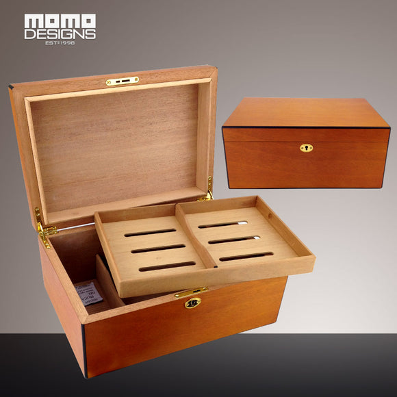 Cohiba humidor 100ct Cigar box Spain cedar wood gift box for men smoking accessories humidifie with tray