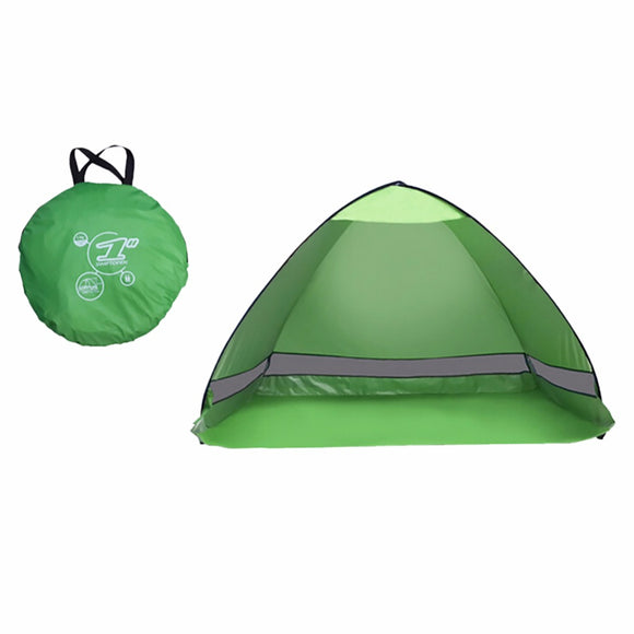 Outdoor Camping Tent hiking beach Summer Tent UV Protection Fully Automatic Sun Shade Portable Pop Up Beach Tent