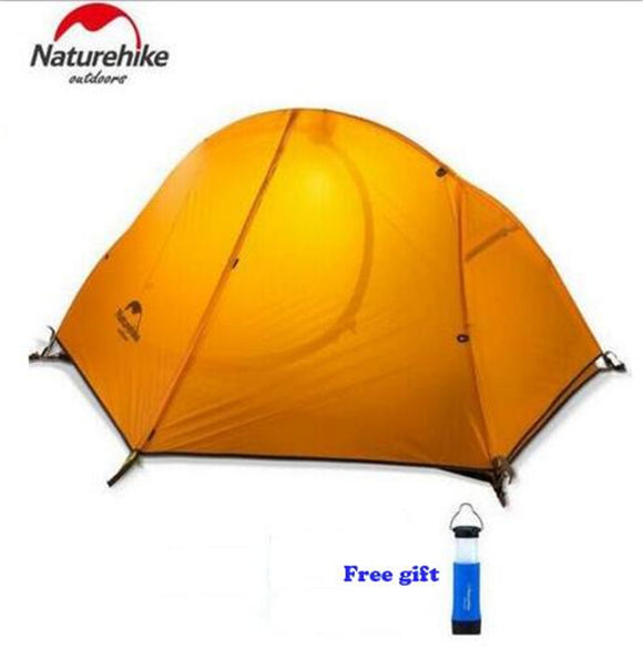 Naturehike Outdoor Travel Camping Tent Ultralight 1-2 Person Four Season Tent Double Layer Waterproof Shelter Camping Equipment
