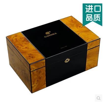 luxury orginal wooden sturcture cigar storage box cigar box ciager organizadores men gift box XJH016