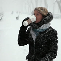 Cut Through The Cold With a Cup of Coffee