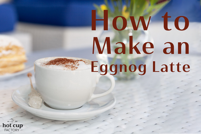 How to Make an Eggnog Latte