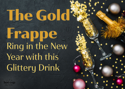 The Gold Frappe: Ring in the New Year with this Glittery Drink