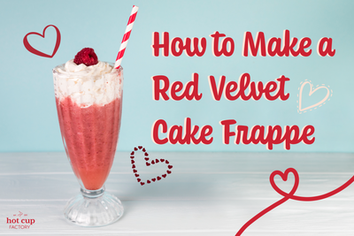 How to Make a Red Velvet Cake Frappe