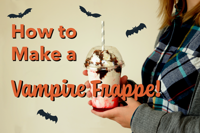 How to Make a Vampire Frappe!