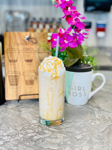 Gingerbread frappe, 5 Thanksgiving Themed Drinks You Need in Your Coffee Shop