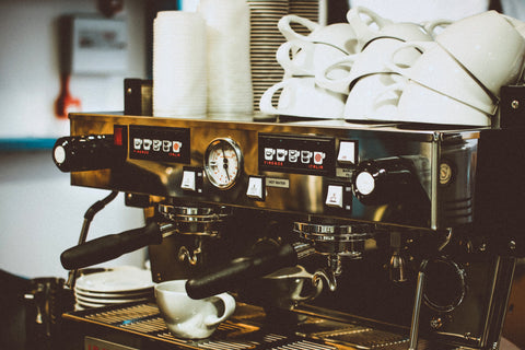 Espresso Machine with White Mugs, 5 of the Best Non-Dairy Milks to Serve in Your Coffee Shop