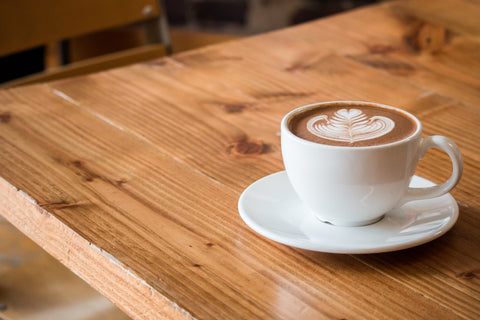 Latte Art in White Mug, 5 of the Best Non-Dairy Milks to Serve in Your Coffee Shop