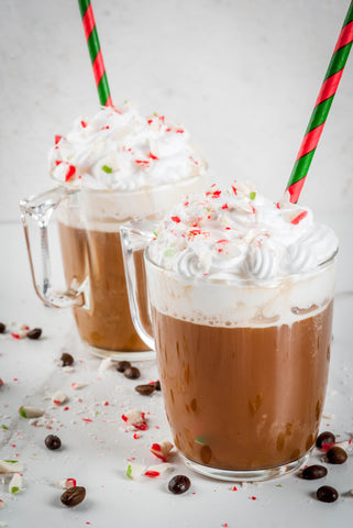 White Chocolate Peppermint, Top Ten Flavoring Syrups You Need in Your Coffee Shop