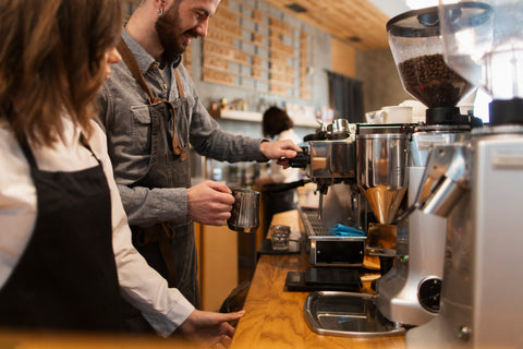 Making Coffee, How to Have the Best Customer Service in Your Coffee Shop