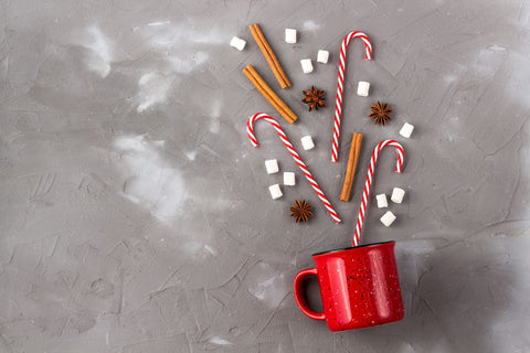 Peppermint Hot Drink, How to Make Peppermint Syrup