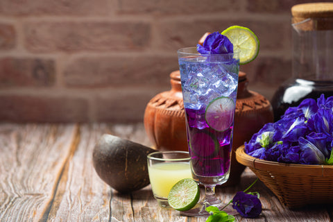 Butterfly Pea Flower Tea, 5 Drink Recipes for Your Coffee Shop this Spring