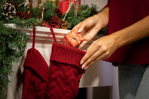 Stockings, How to Decorate Your Coffee Shop for the Holidays