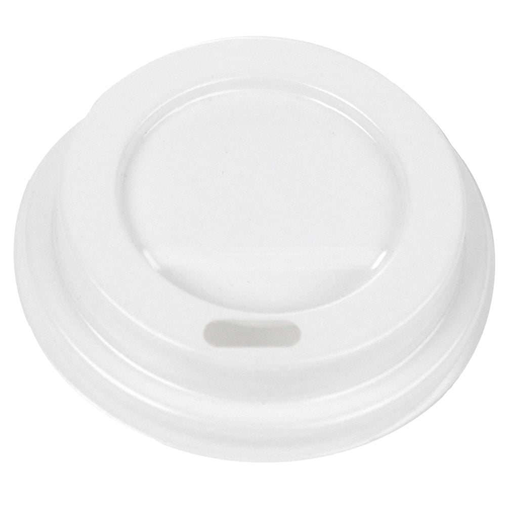 Hot Paper Cup Lids - White - 4 oz