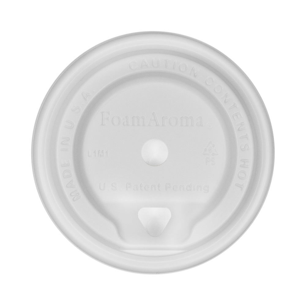 Aroma Hot Cup Lids - White - 10/12/16/20 oz